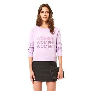Rebecca Minkoff Purple Women Jennings Sweatshirt